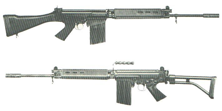fusiles de combate