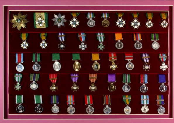 Rhodesian awards and decorations descriptions for Awards and decoration