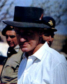 Ian Smith Prime minister of Southern Rhodesia.